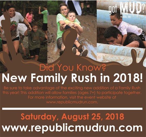 got Mud? Run Family Rush